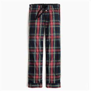 J. Crew || Blackwatch Stuart Plaid Pajama Pants
